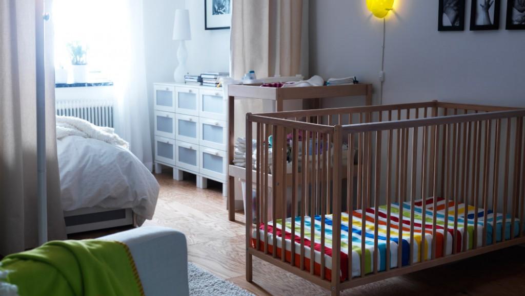 Детское место в однокомнатной квартире