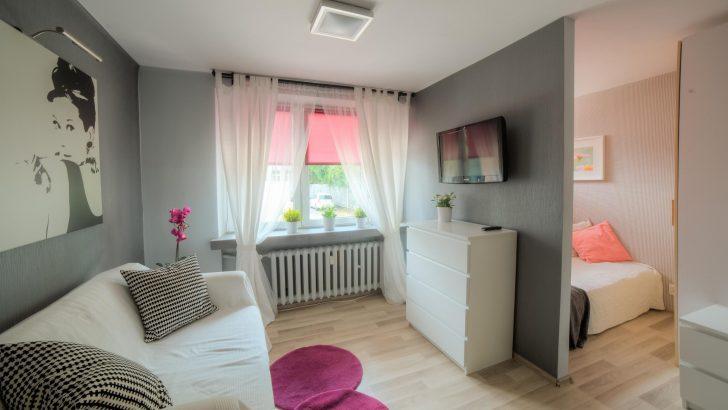 Совмещенная гостиная и спальня в хрущевке