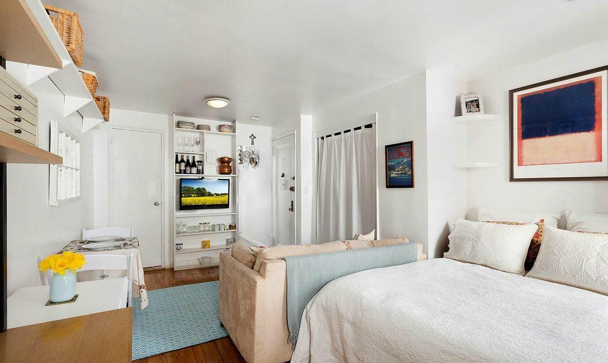 Гостиная спальня маленькая