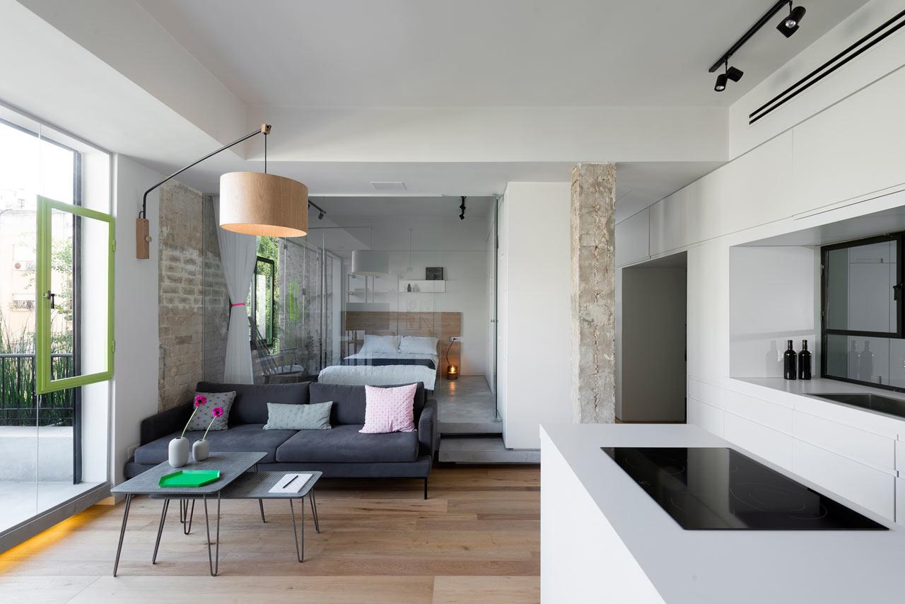 Совмещенная гостиная и спальня: особенности планировки