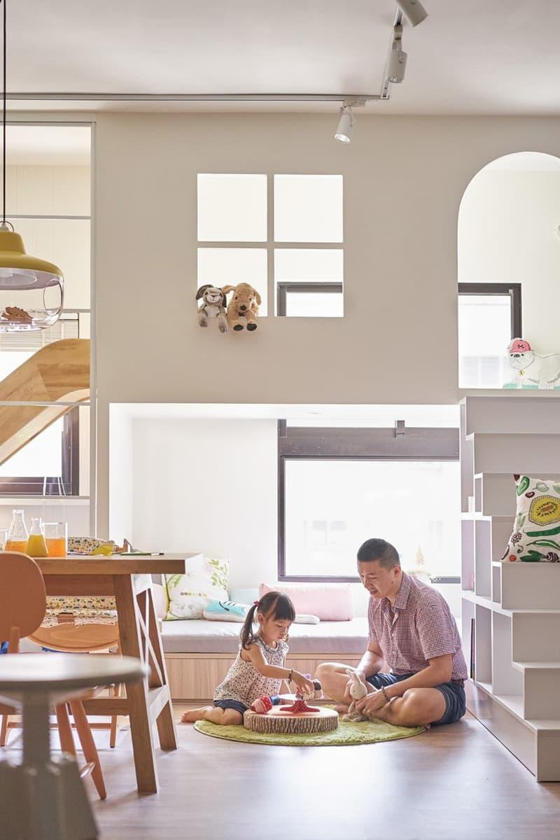 Функциональная мебель в однушке с двумя детьми