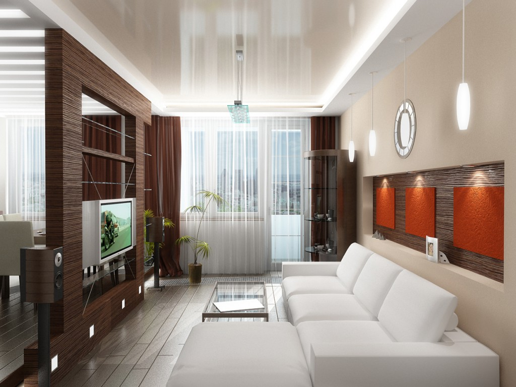 Пример интерьера комнаты