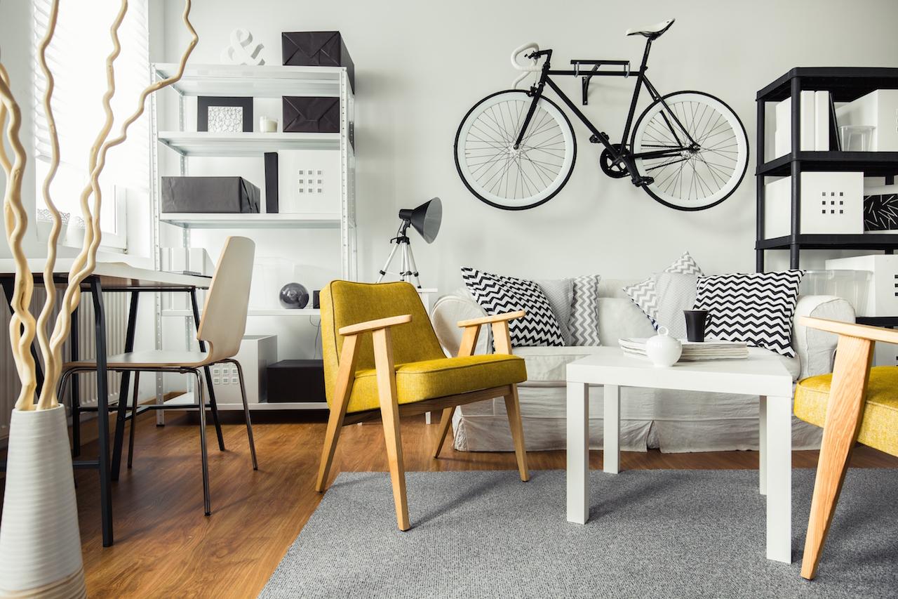 Бюджетный ремонт в однокомнатной квартире IKEA