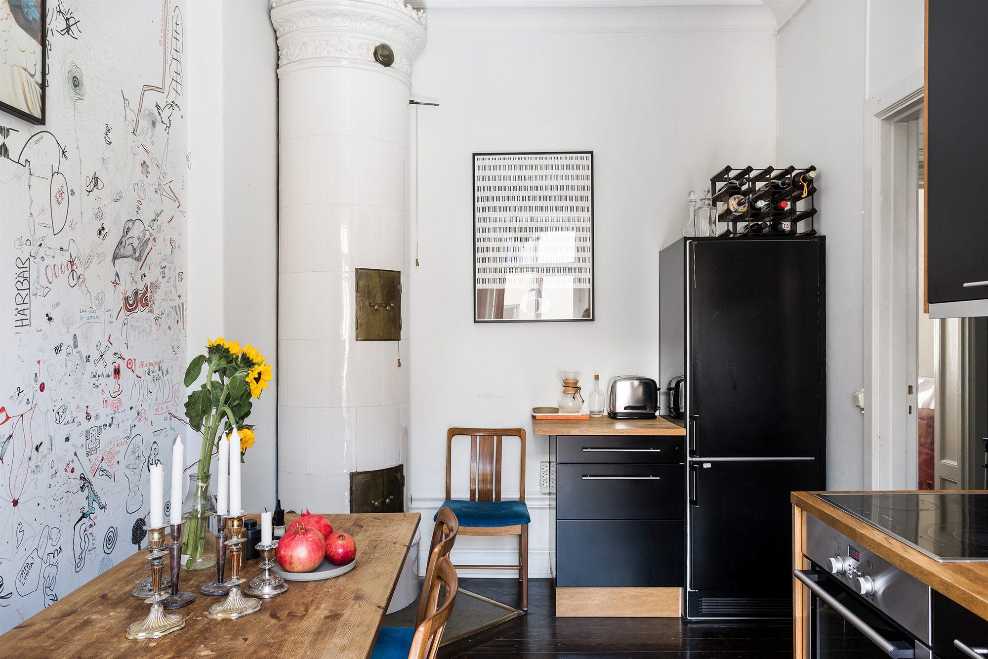 Бюджетный ремонт в однокомнатной квартире на кухне