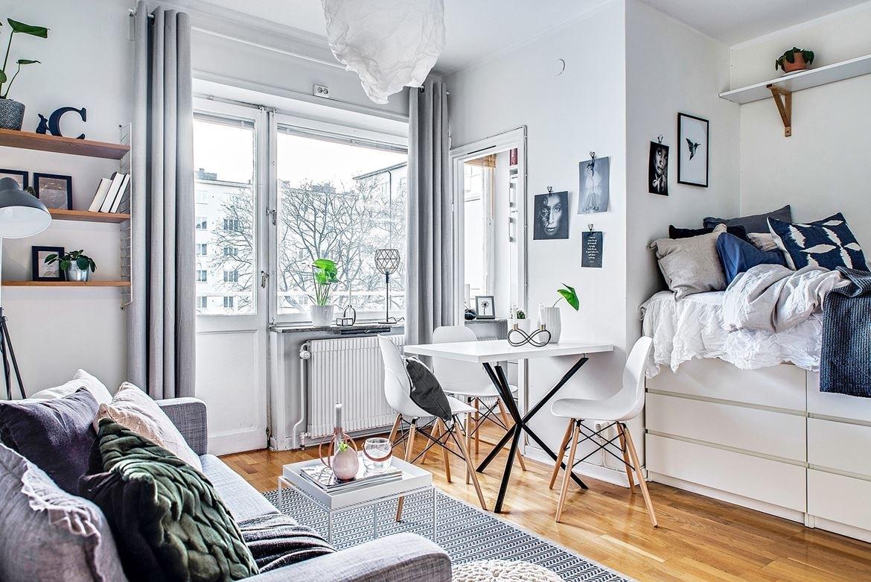 Бюджетный дизайн и ремонт в однокомнатной квартире