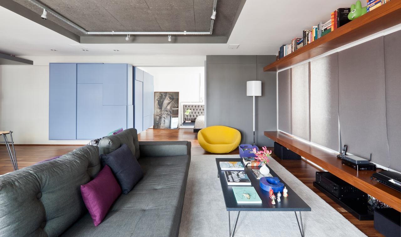 Бюджетный ремонт в однокомнатной квартире с панелями