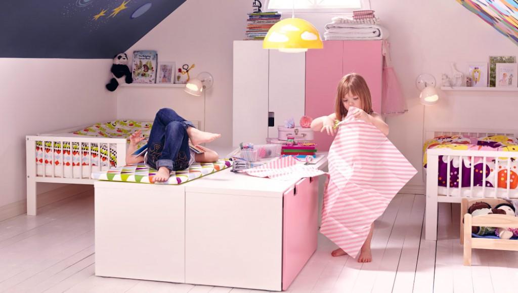Двое детей в квартире: как распределить пространство (58 фото)