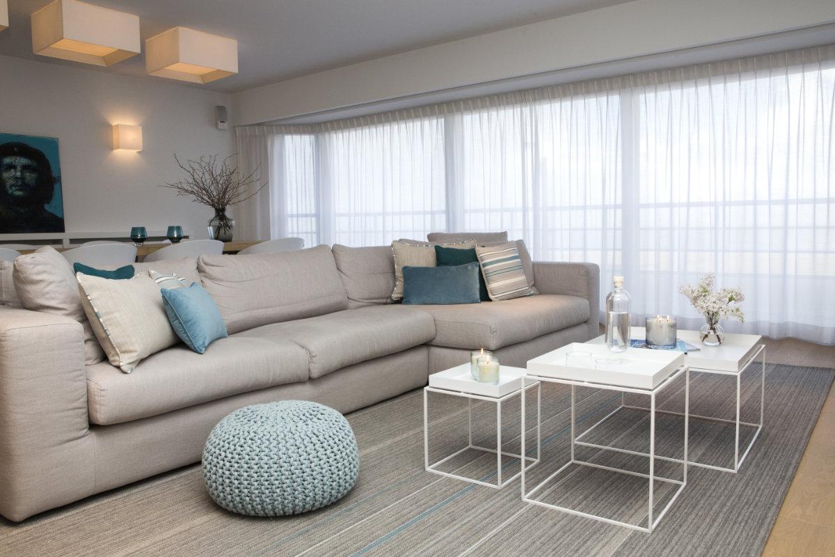 Бюджетный ремонт в однокомнатной квартире серый