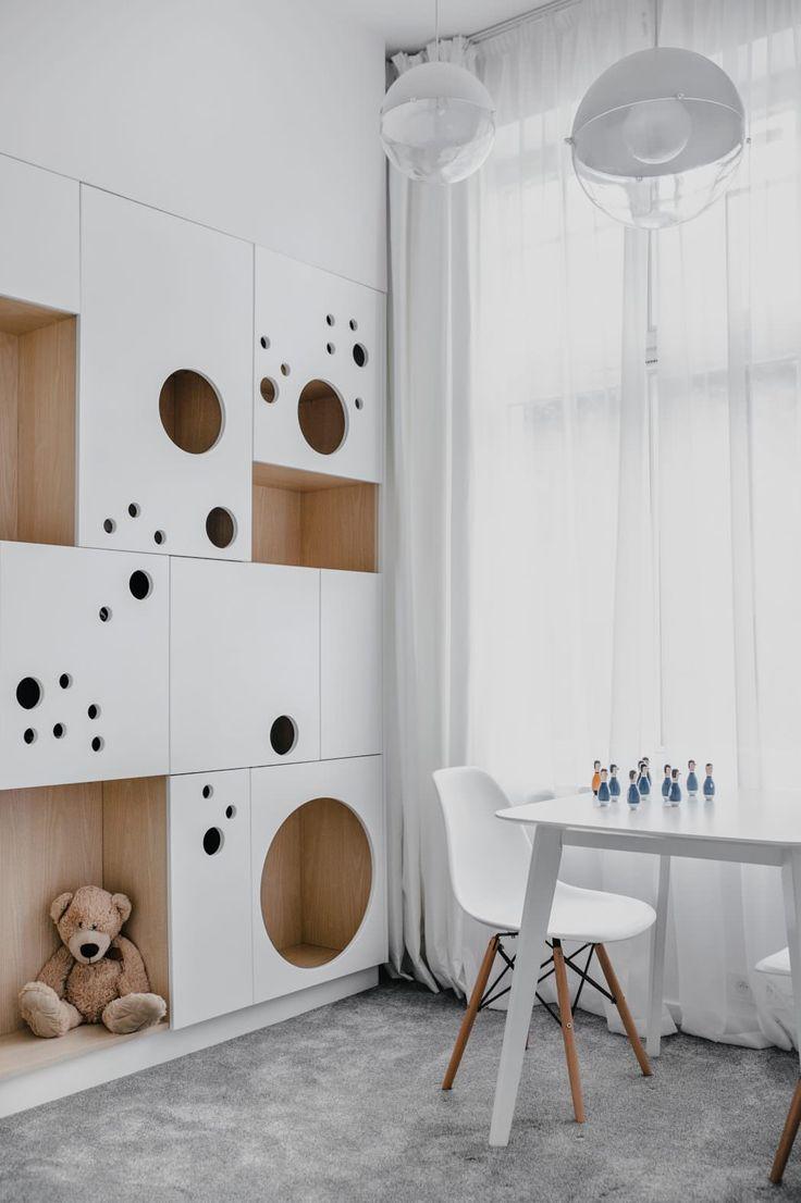 Дизайн однушки с детской и шкафчиками