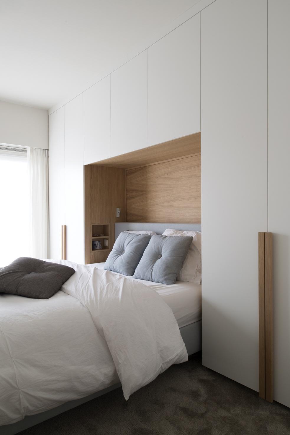 Бюджетный ремонт в однокомнатной квартире в спальне
