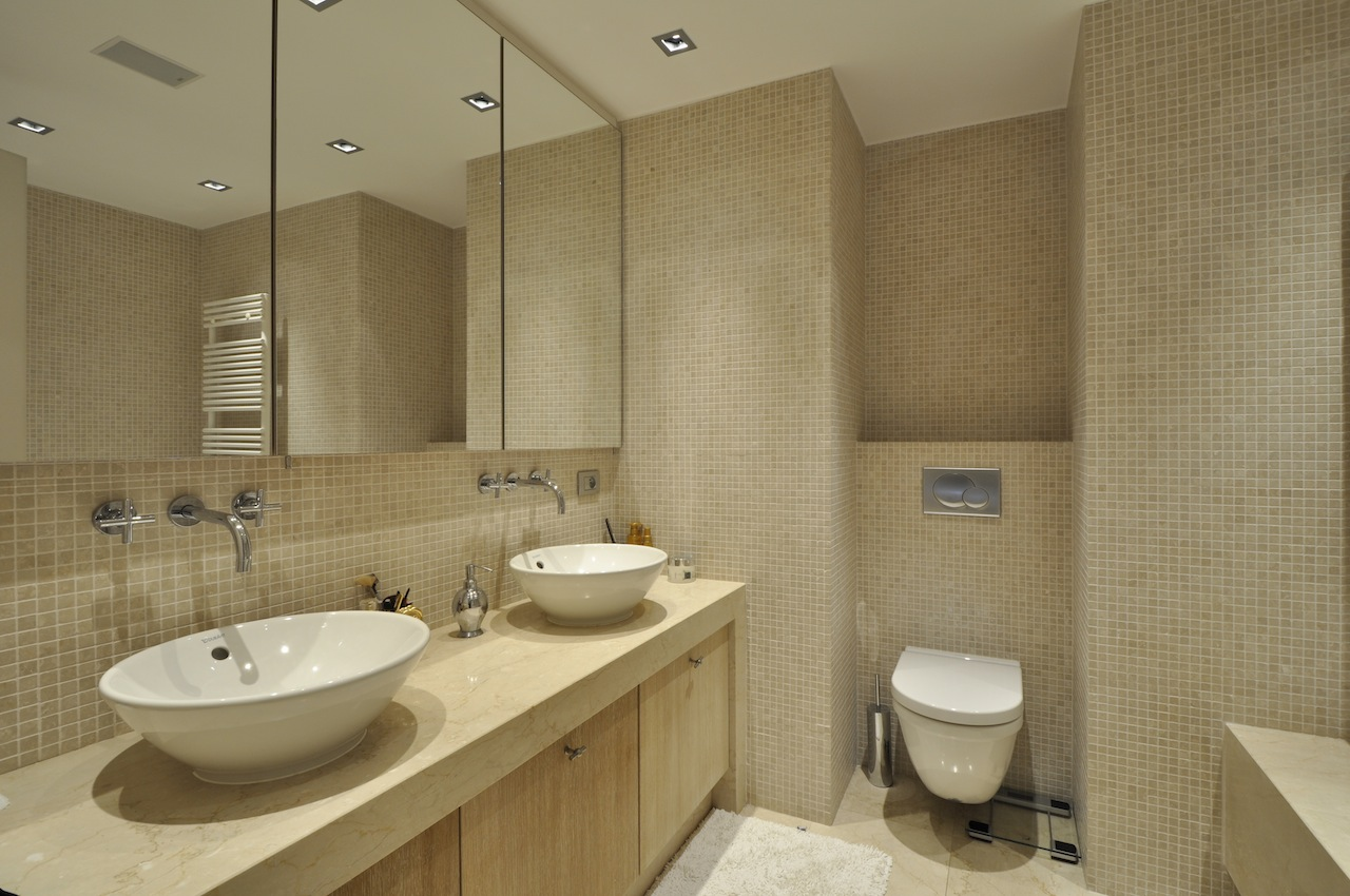 Бюджетный ремонт в однокомнатной квартире в ванной