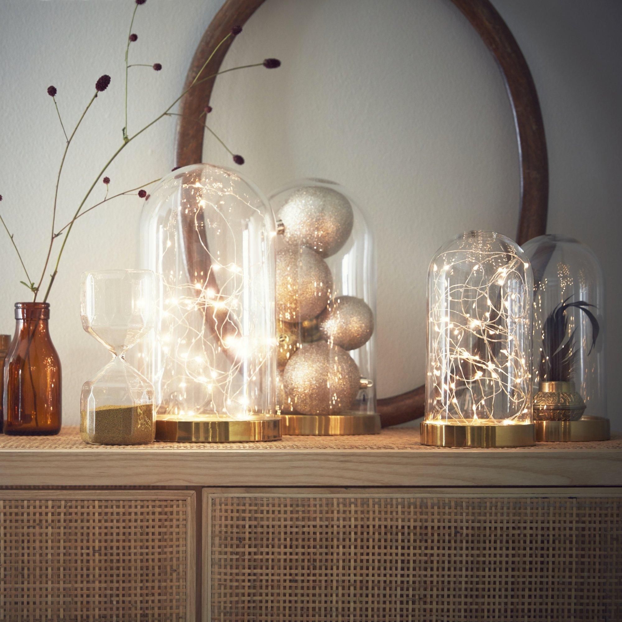 Декор однокомнатной квартиры к новому году