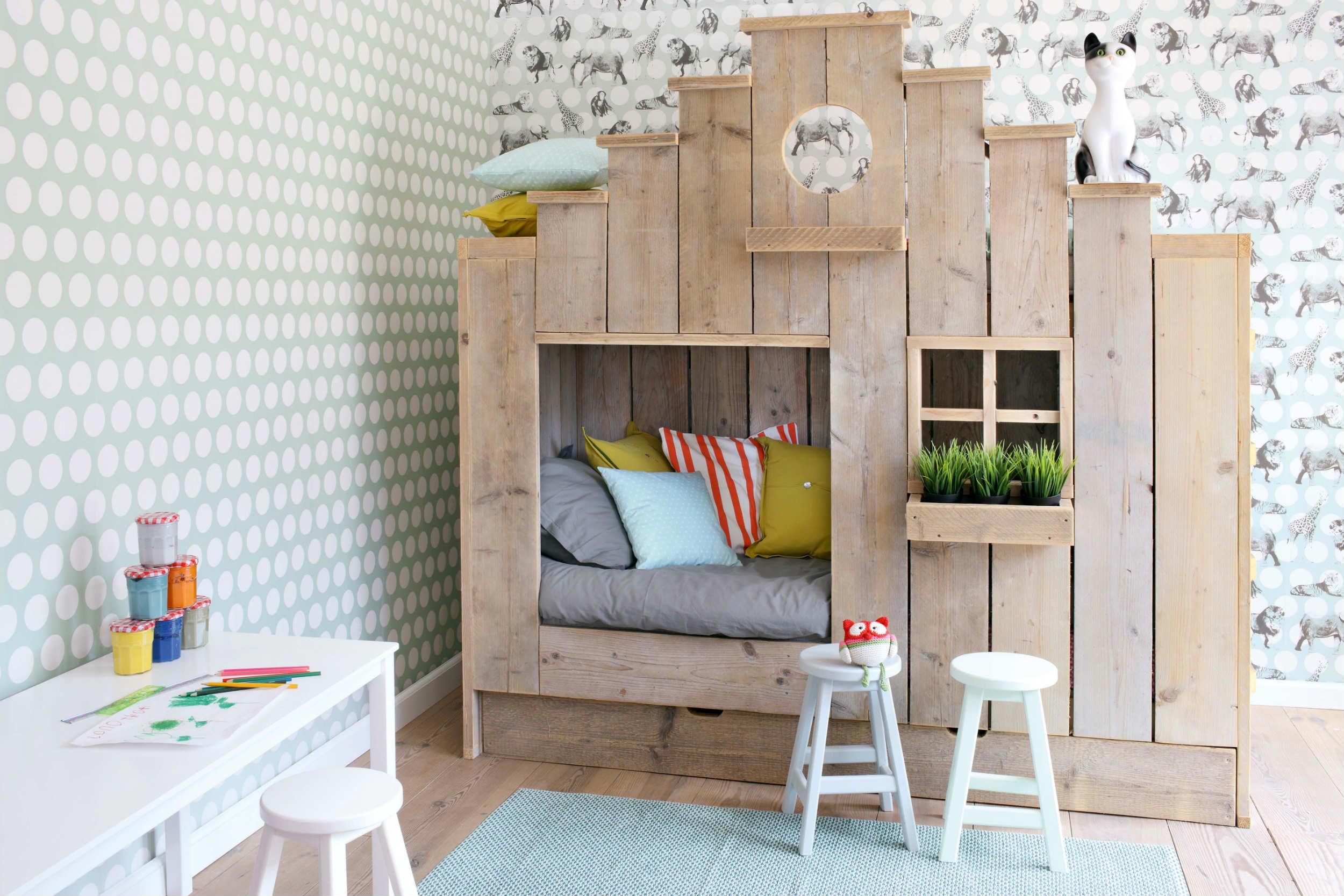 Домик для ребенка в однокомнатной квартире