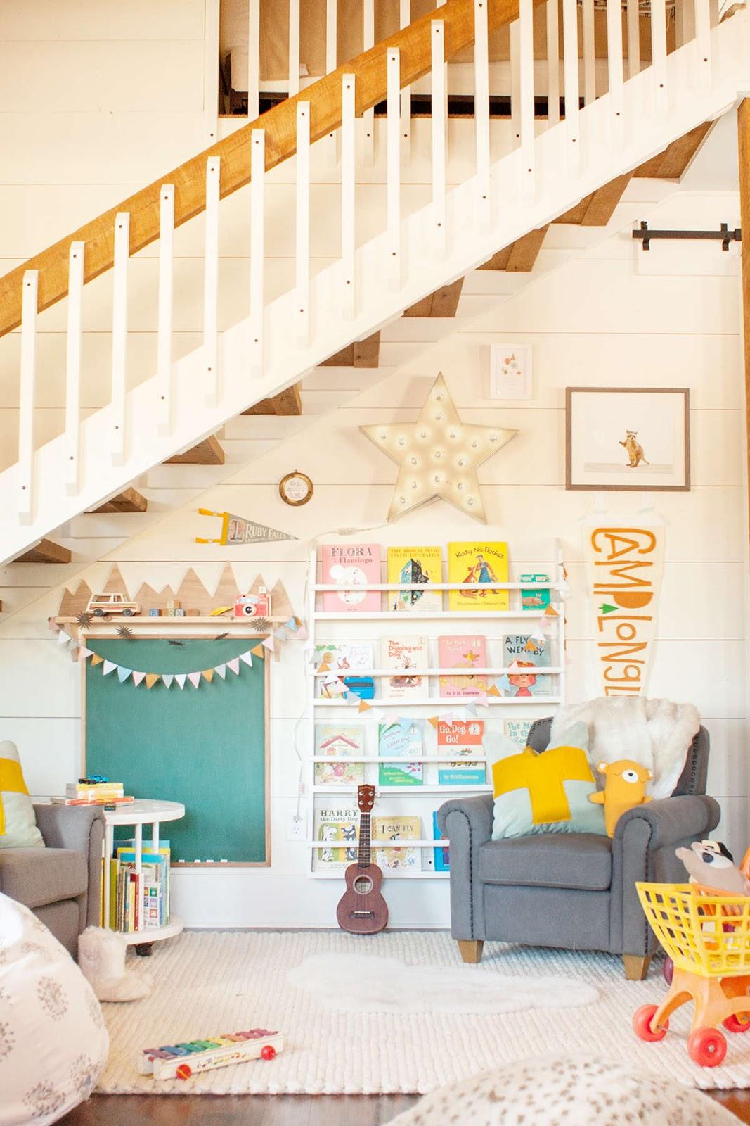 Детская под лестницей