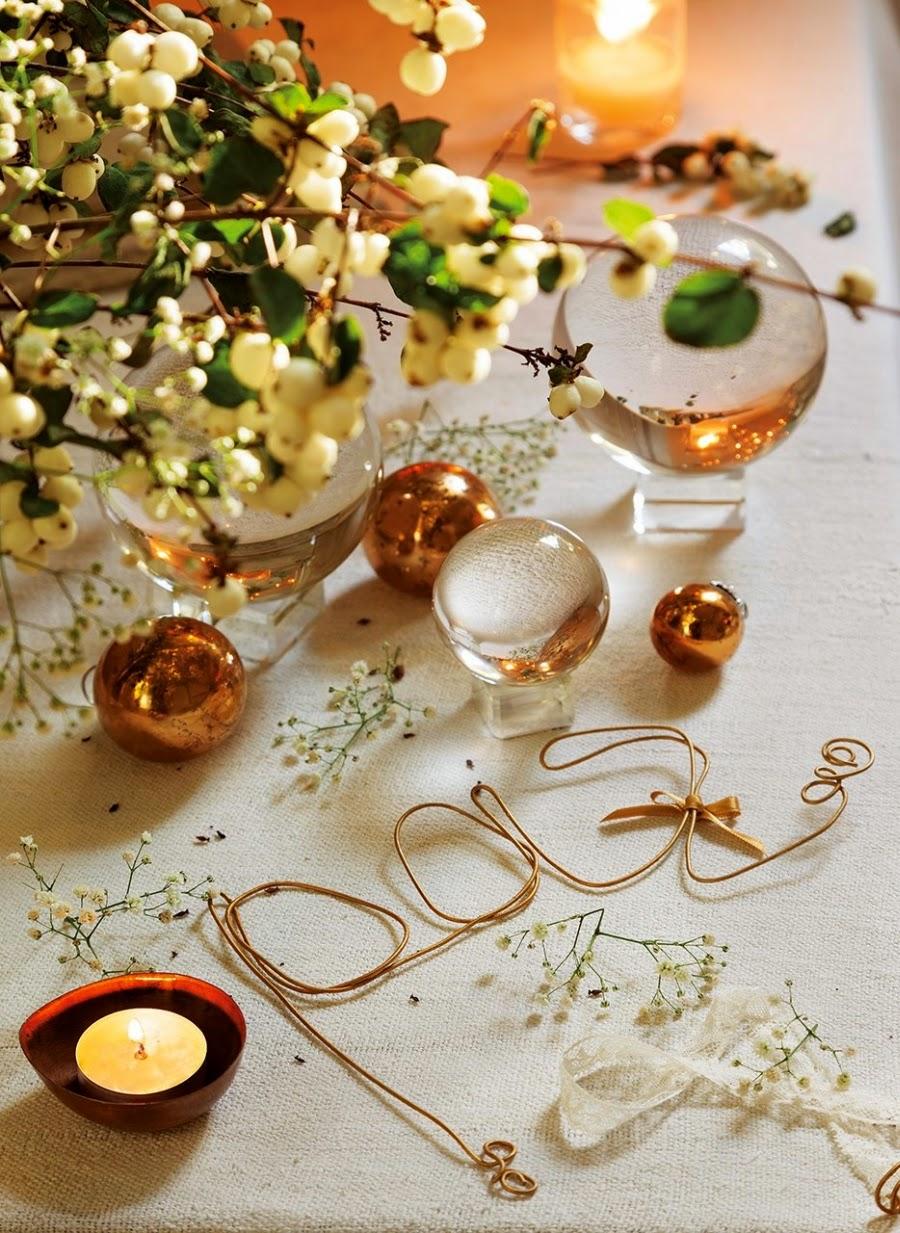 Новогодний декор квартиры золотой