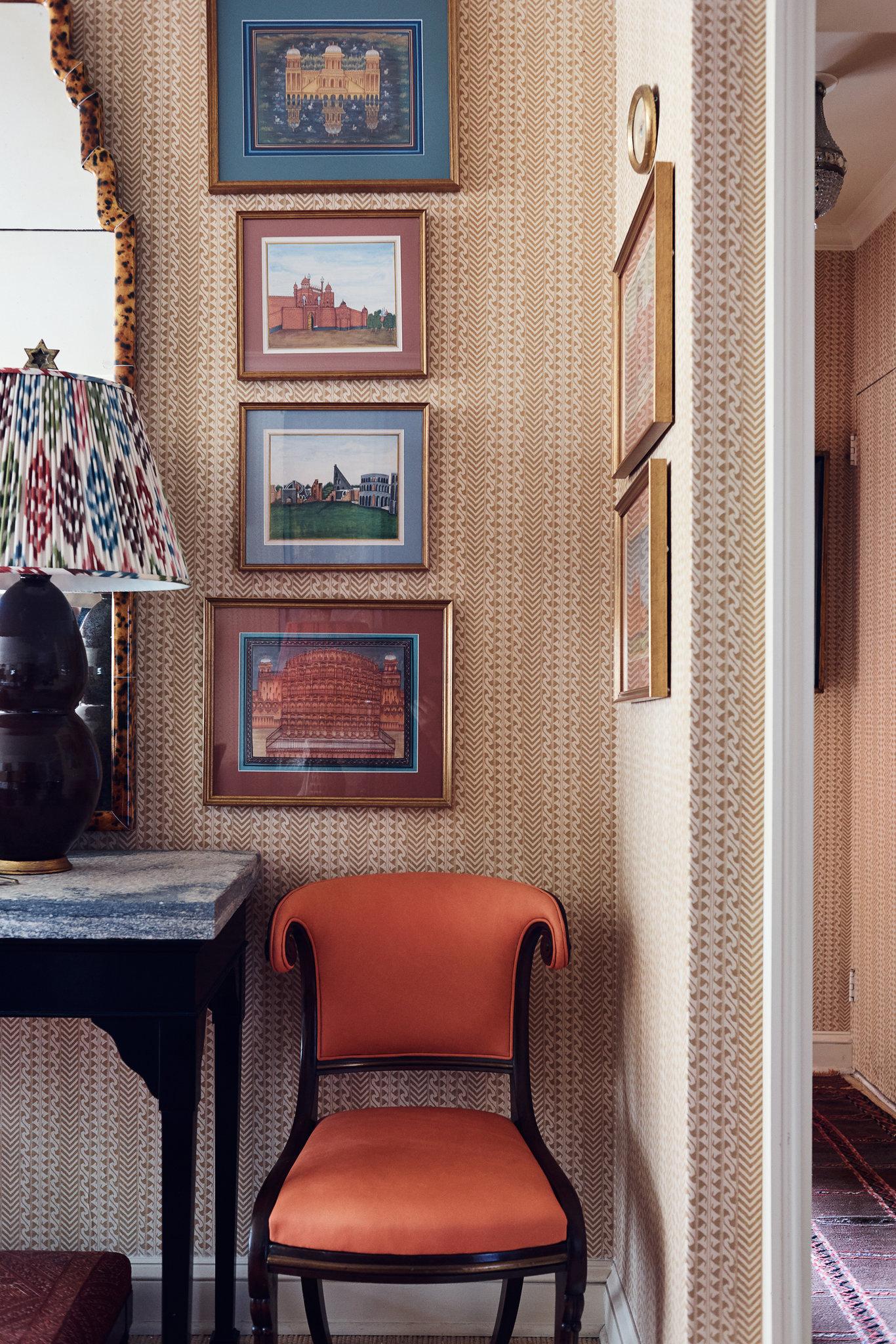 Дизайн обоев для однокомнатной квартиры бежевый