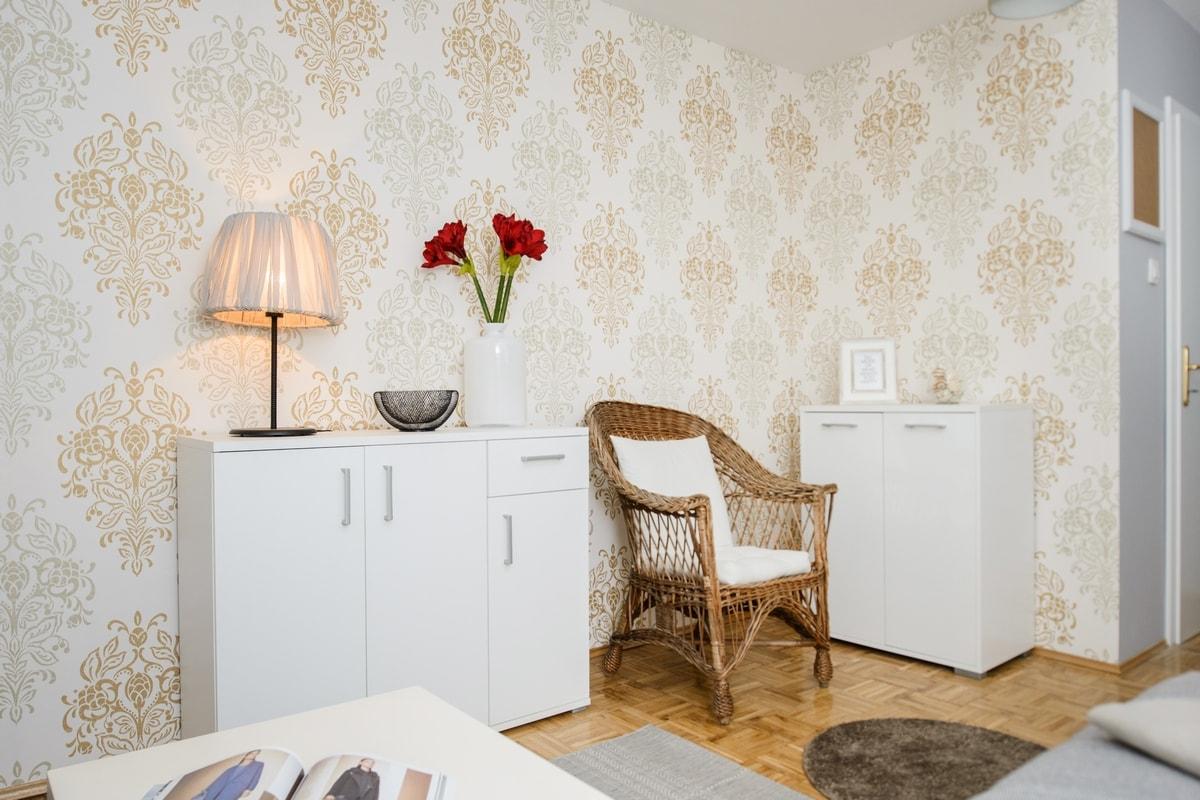 Дизайн обоев для однокомнатной квартиры классических