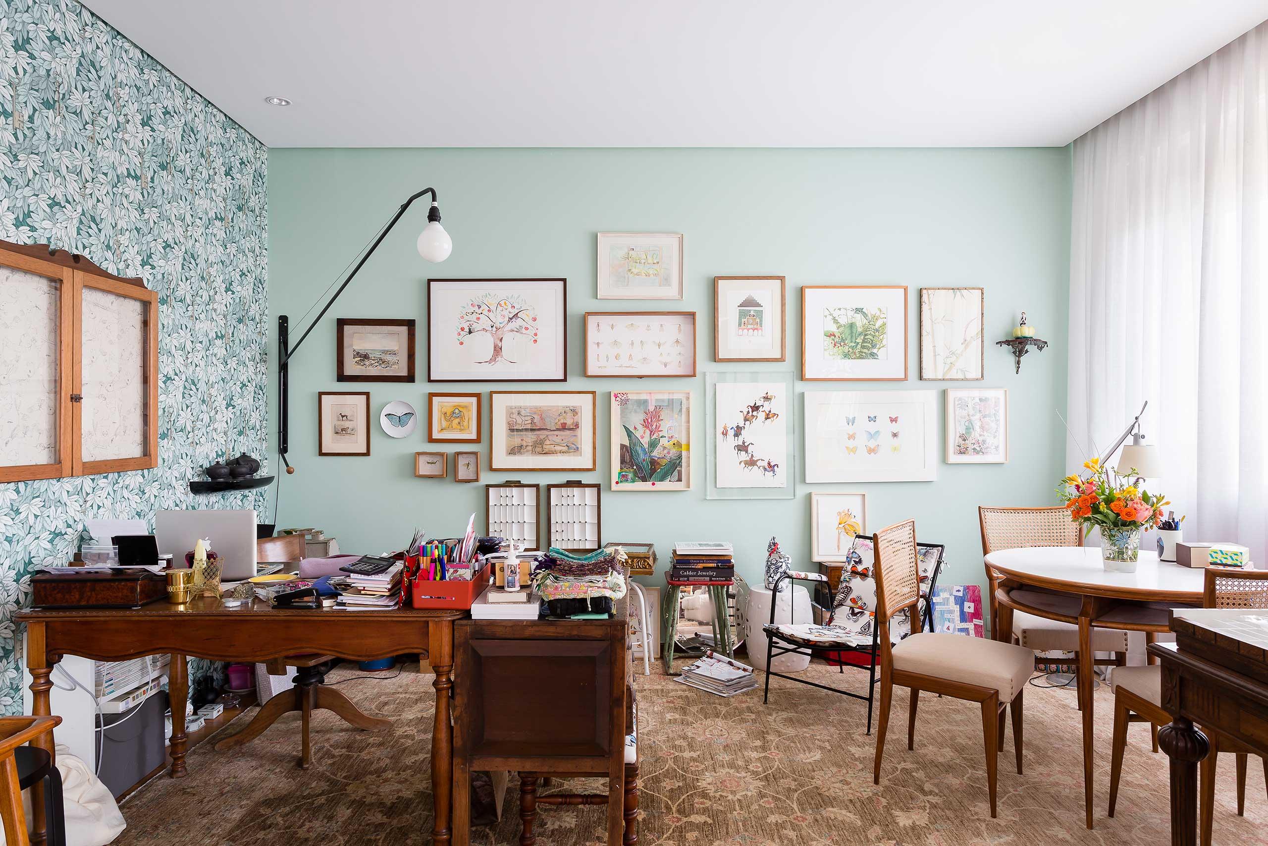 Дизайн обоев для однокомнатной квартиры цветочных