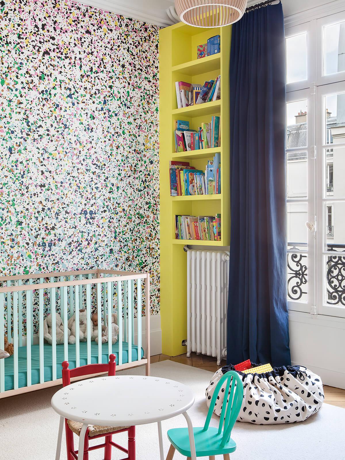 Дизайн обоев для однокомнатной квартиры детских