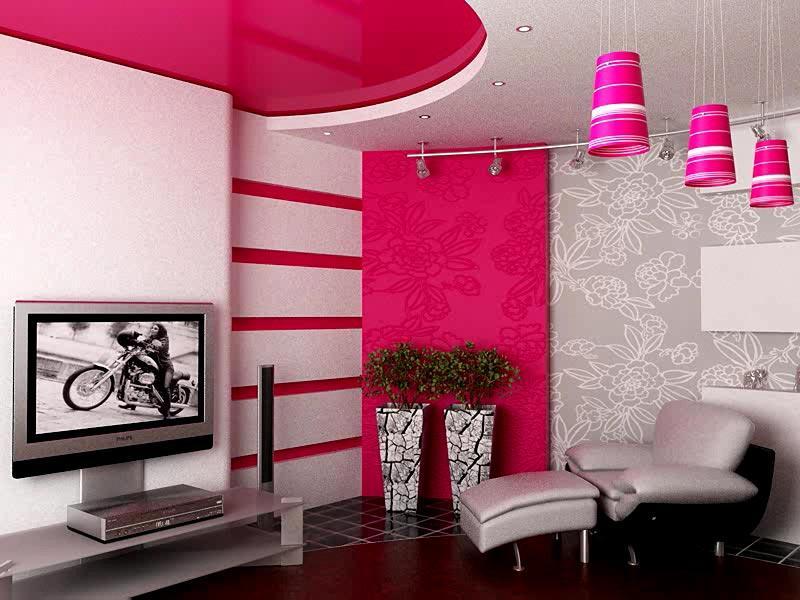Дизайн потолка в интерьере