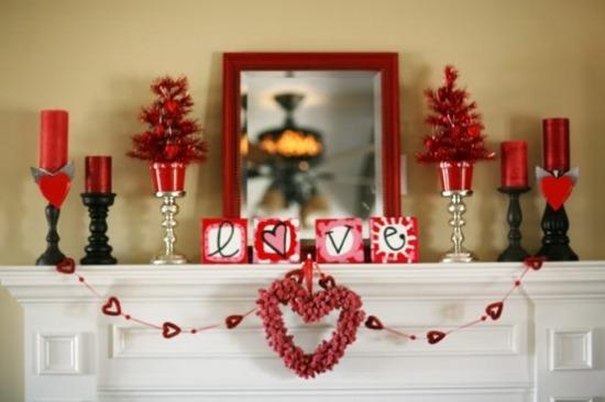 Оформление ко дню влюбленных