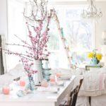 Сервировка стола к 8 марта