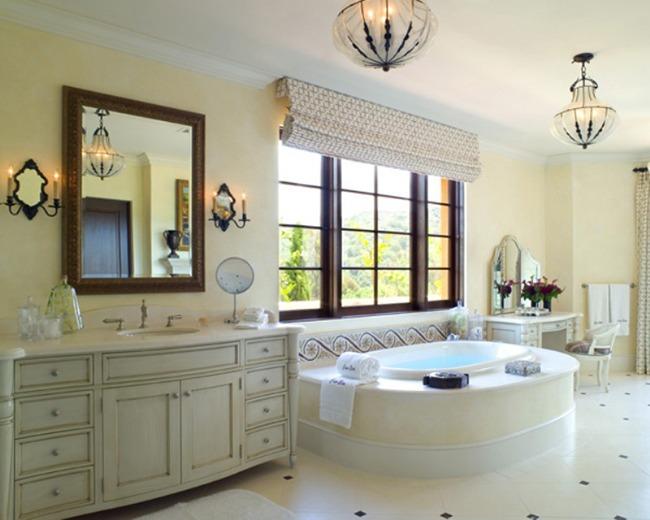 Сантехника в большой ванной