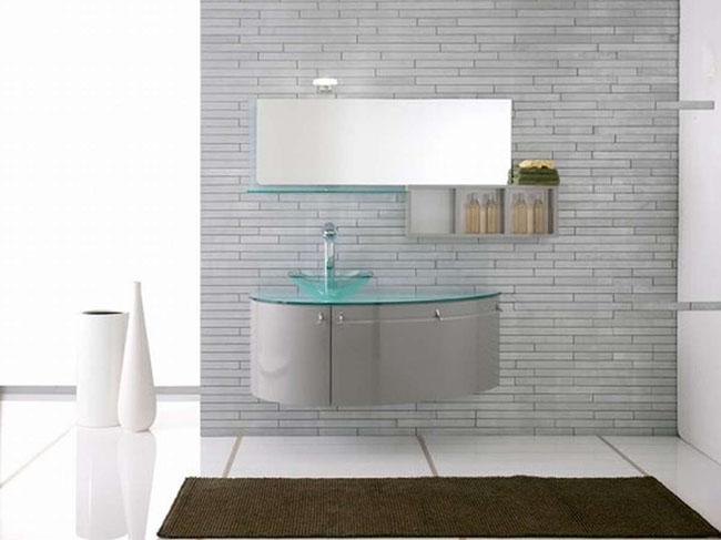 Минималистическая мебель для ванной комнаты