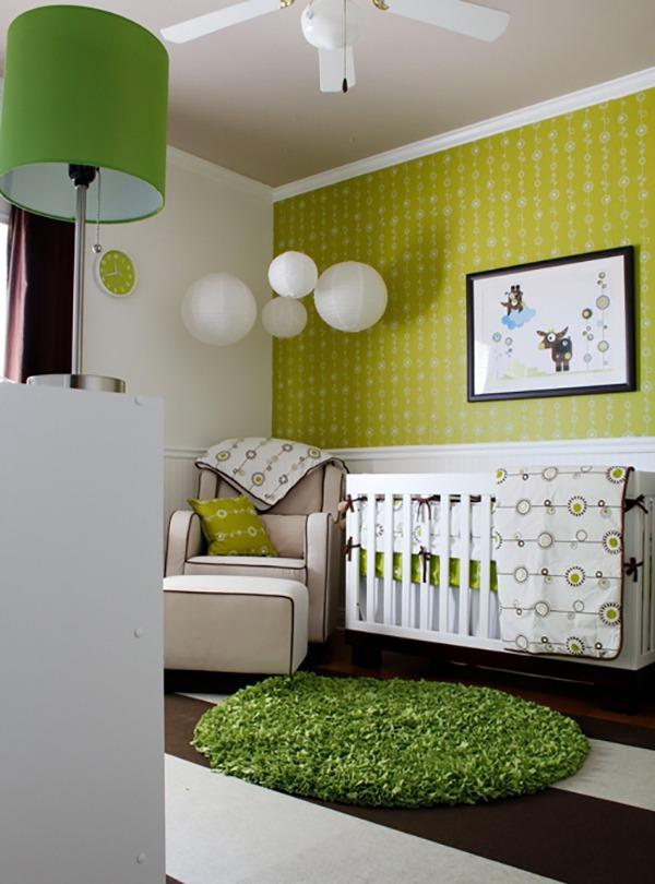 Детская зеленая