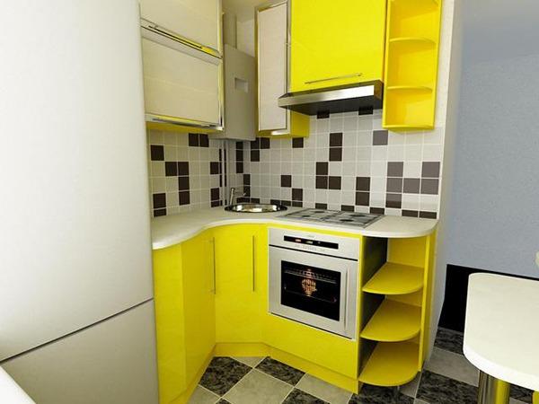 Кухонный гарнитур для кухни 6 кв м