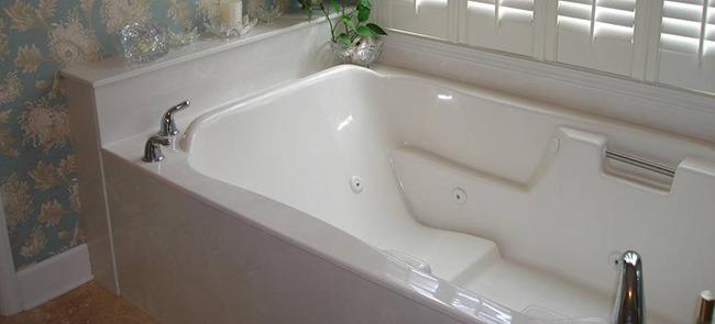Акриловая ванна в дизайне