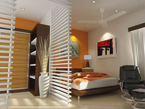 Создание спальни в однокомнатной квартире