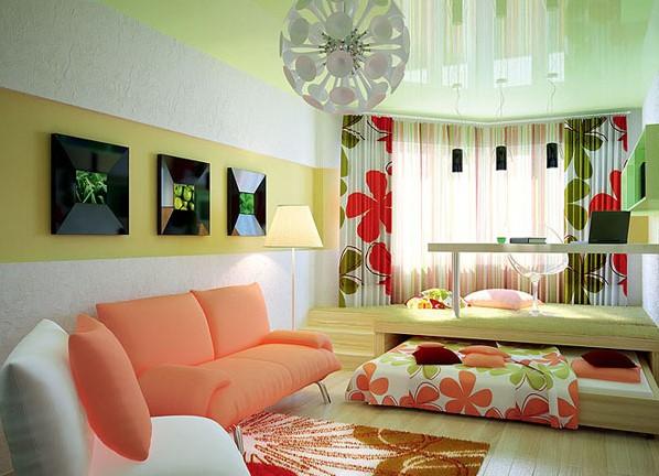Детская мебель в однокомнатной квартире