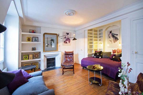 Однокомнатная квартира стилизованная