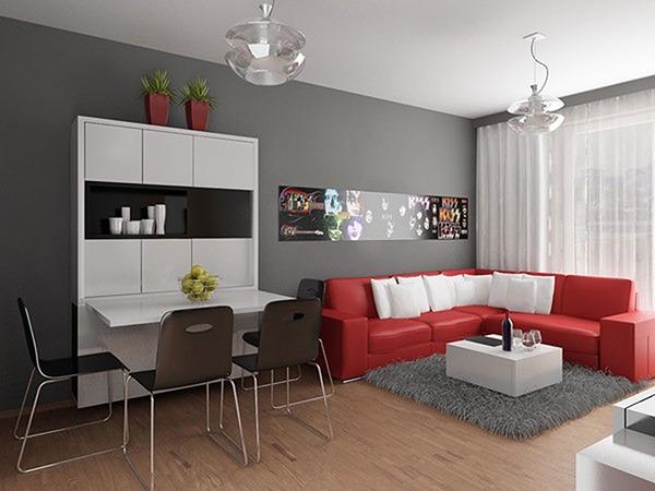 Однокомнатная квартира декор