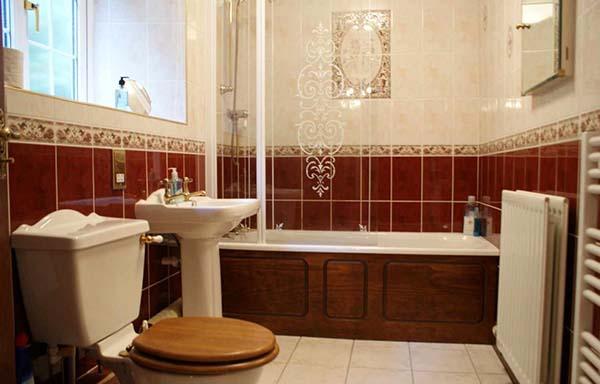 Английский стиль в ванной