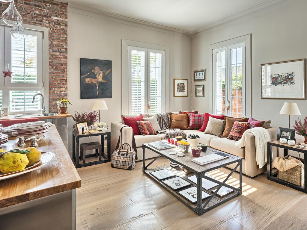 Обстановка однокомнатной квартиры с мебелью