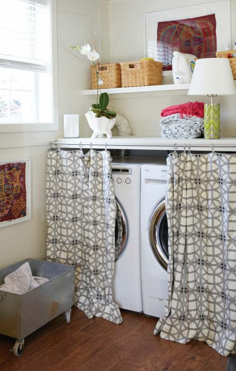 Расположение стиральной машины в ванной комнате