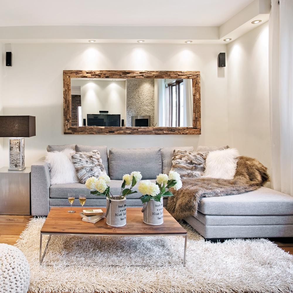 Обстановка однокомнатной квартиры в сером цвете