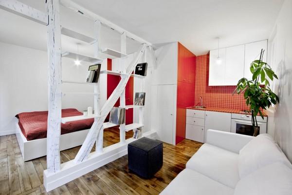 Мебелирование однокомнатной квартиры