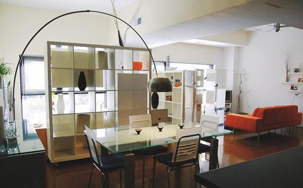 Габаритная мебель в однокомнатной квартире