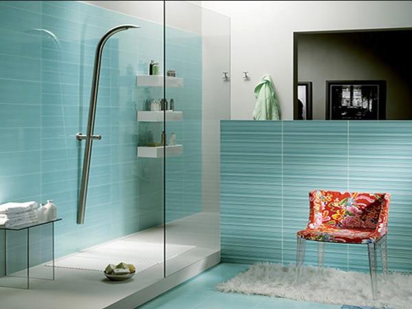 Оформление ванной с душевой