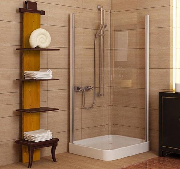 Оформление ванной с душем