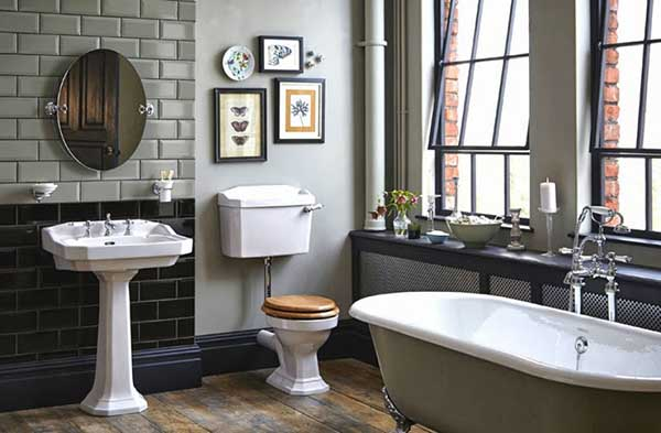 Стилизованная ванная