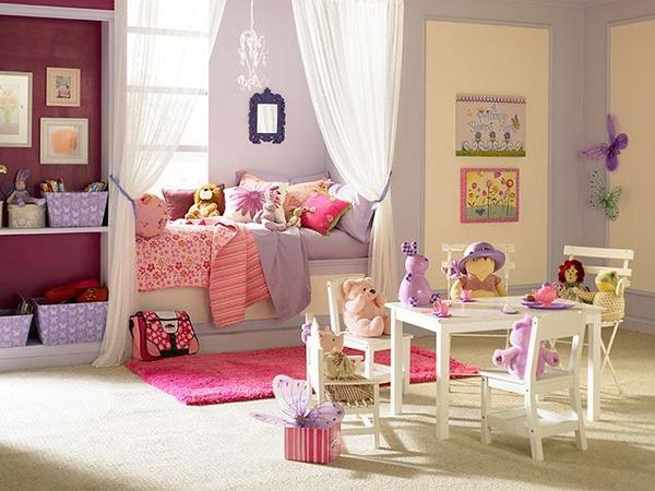 Детская для девочки утонченный дизайн