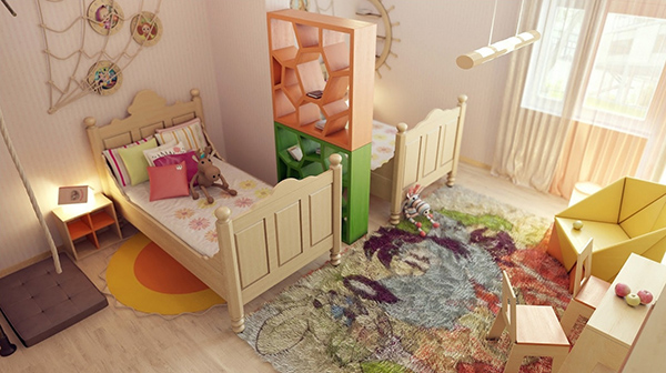 Кроватки деревянные