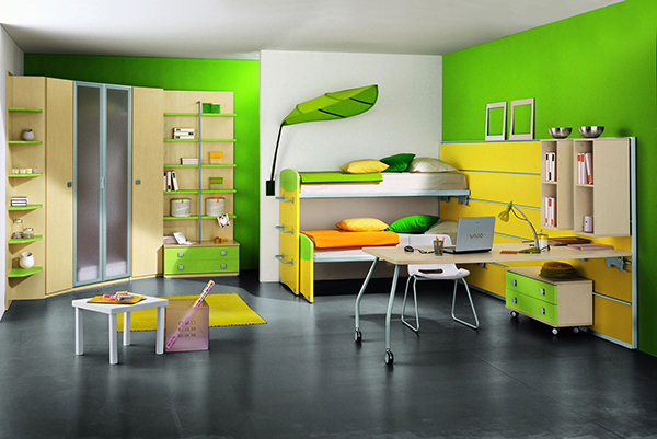Детская светло-зеленая