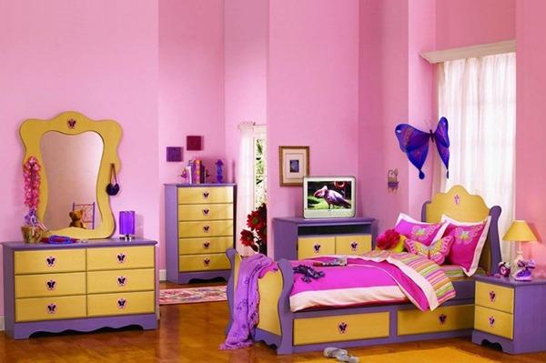 Детская для девочки фиолетовая