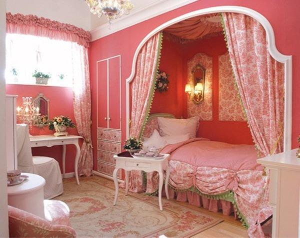 Детская для девочки с розовой стилизацией
