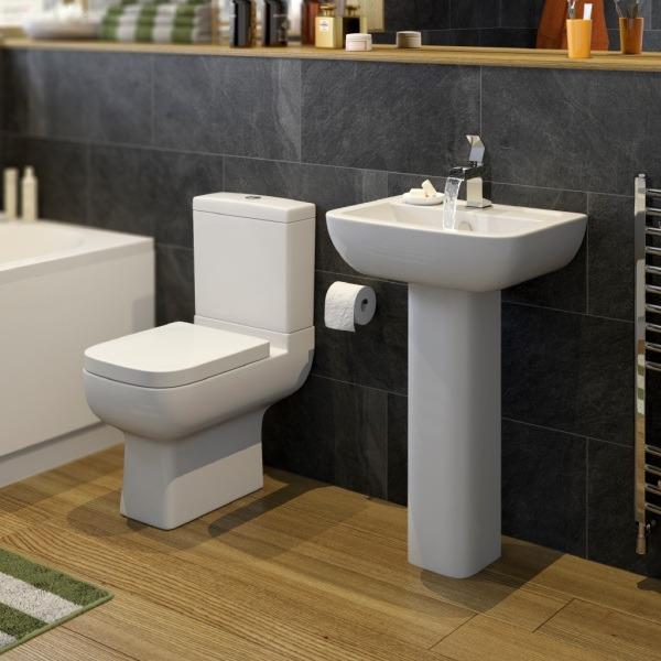 Туалет прямоугольный